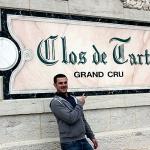 Mathieu au Clos de Tart
