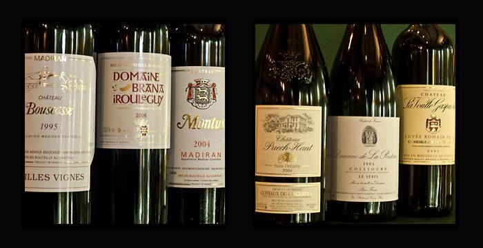 vins du sud ouest : Montus Bouscasse aix