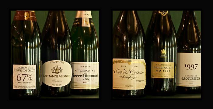 champagne bollinger, deutz à aix en provence