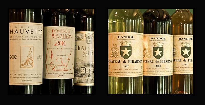 Provence trevallon pibarnon