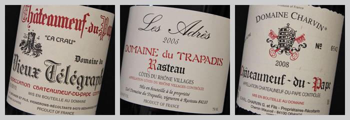 vin de la Vallée du Rhône méridionale