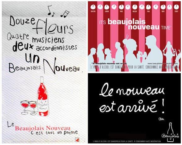 Le Beaujolais Nouveau (et les autres AOC Primeurs) arrive(nt) le 15 novembre
