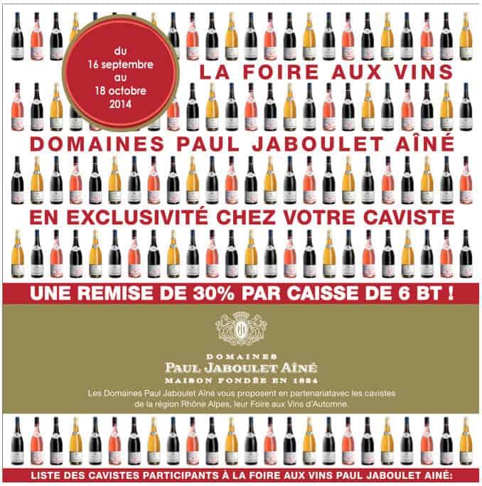 Promotion Jaboulet : -30%