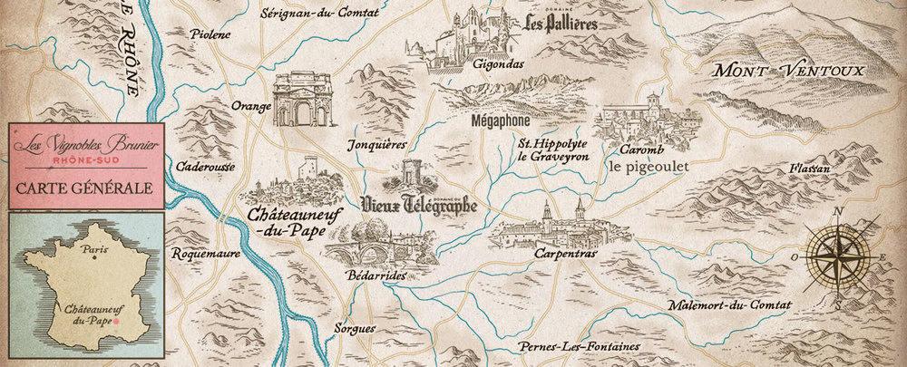 Carte Vieux Télégraphe