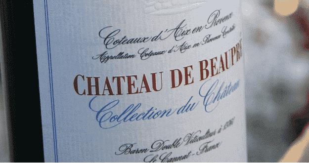 Dégustation Château de Beaupré