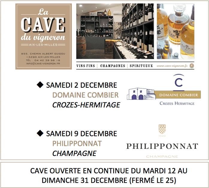 Dégustation Fin d'Année à La Cave du Vigneron (Aix-les-Milles)