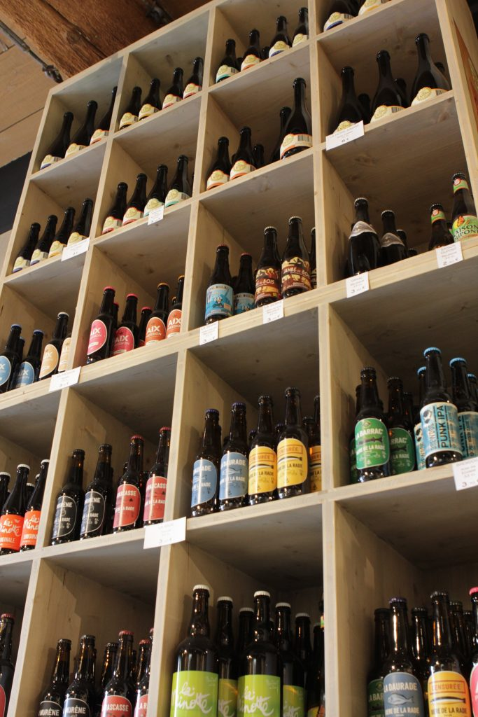 bières à la cave de lignane